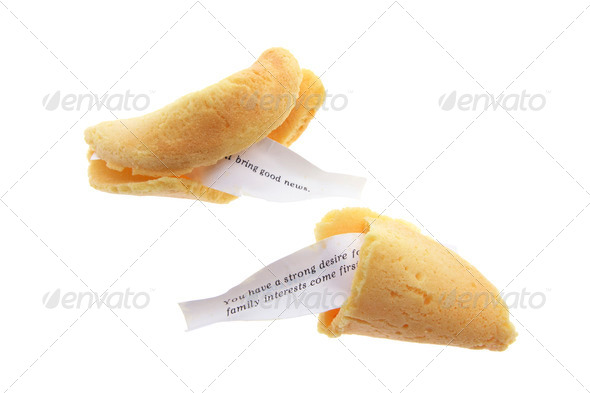 Fortune Cookies - Stock Photo - Images