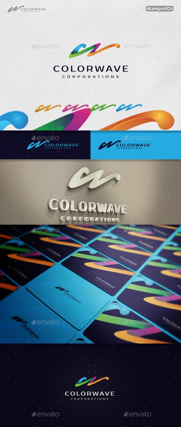 Color Wave Logo - Letters Logo Templates