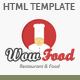 WOW Food HTML Template - ThemeForest Item for Sale