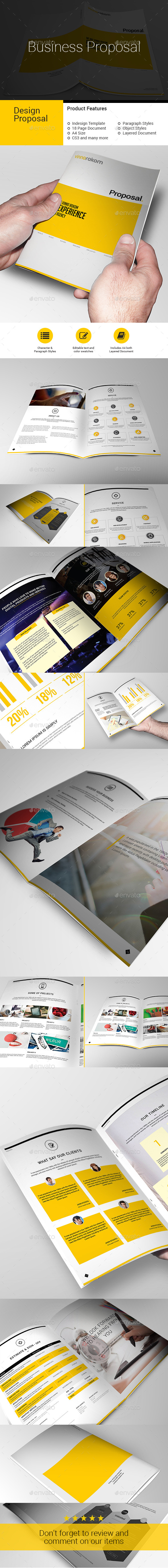 Business PROPOSAL - Stationery Print Templates