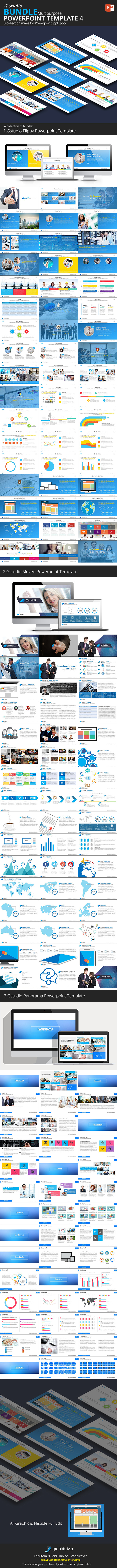 Gstudio Powerpoint Bundle 4 - Business PowerPoint Templates