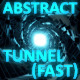Glowing Abstract Tunnel Blue - VideoHive Item for Sale