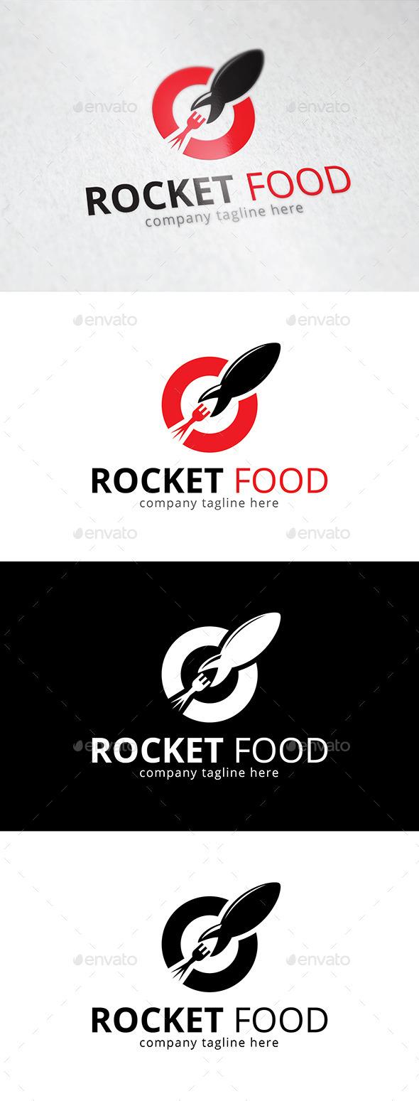 Rocket Food Logo - Logo Templates