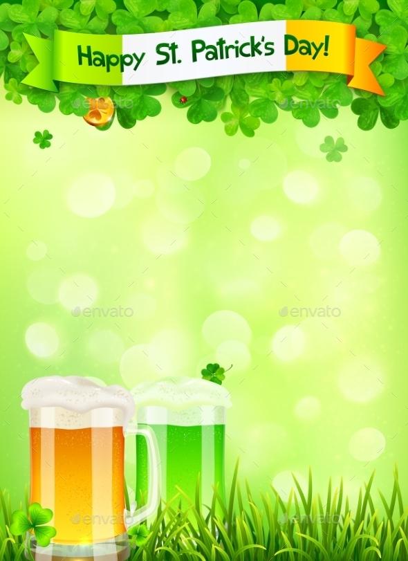 St. Patricks Day Leaflet - Valentines Seasons/Holidays