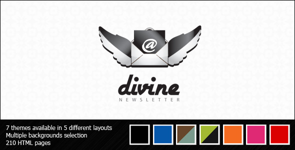 Divine Newsletter – Email Templates