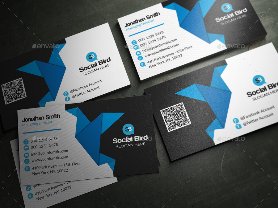 Social Media Business Card 72 by far_star60 | GraphicRiver