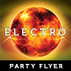 Futuristic Electro Flyer - Burn - GraphicRiver Item for Sale