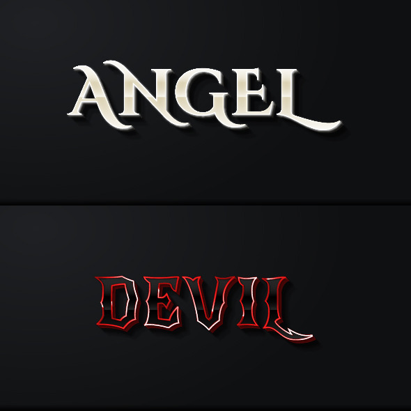 Fantasy Game Style Text Effects - Styles Illustrator