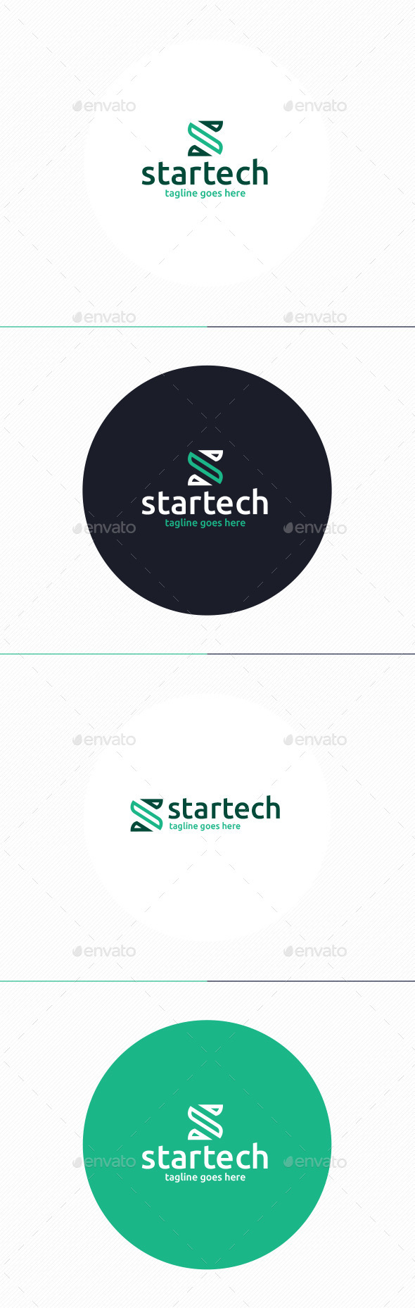 Startech Logo • Letter S - Letters Logo Templates