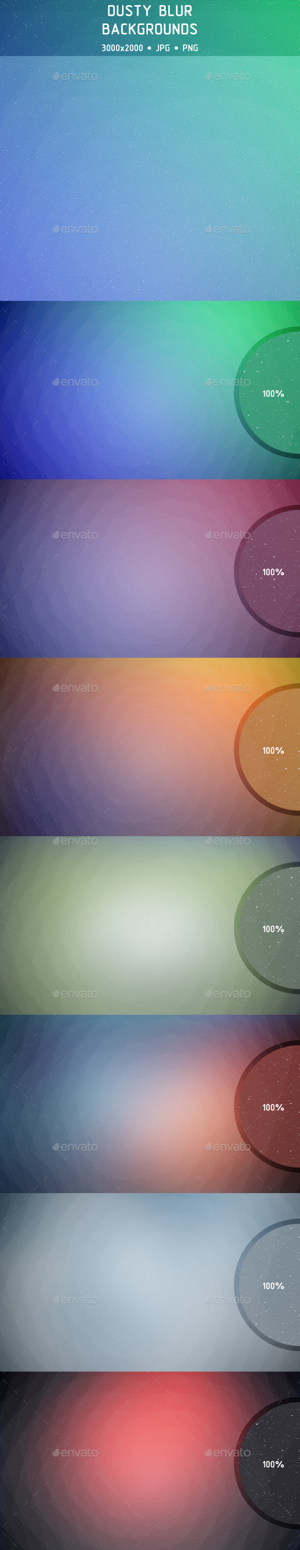 Dusty Blur Backgrounds - Backgrounds Graphics
