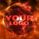 Fire Sand Orb Logo Holder - VideoHive Item for Sale
