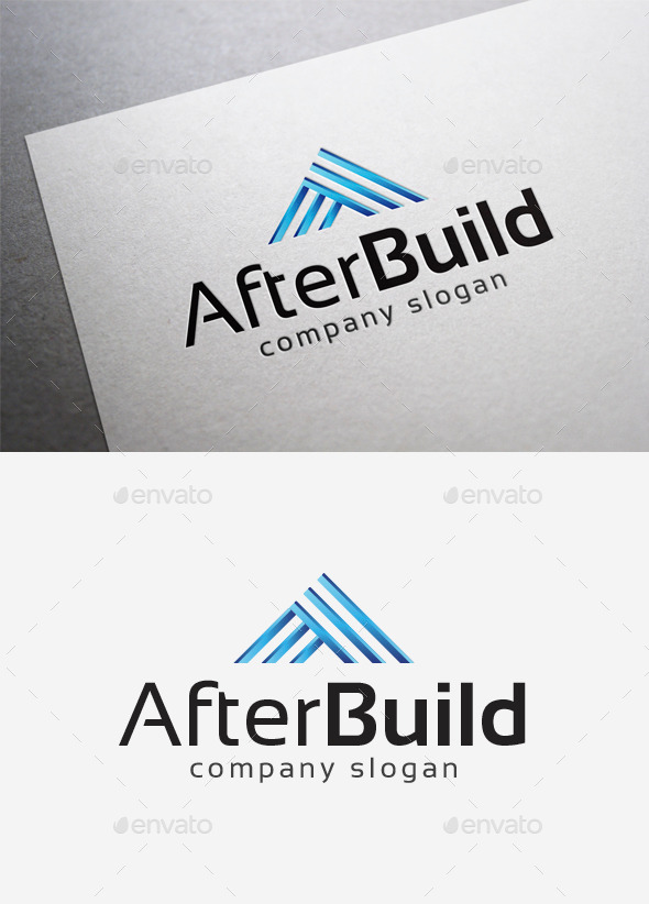 After Build Logo - Abstract Logo Templates