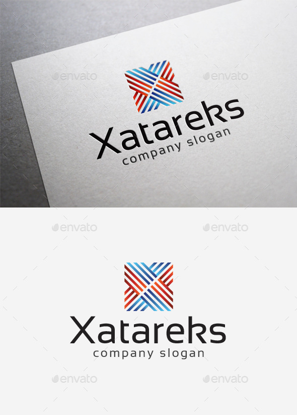 Xatareks Logo - Abstract Logo Templates