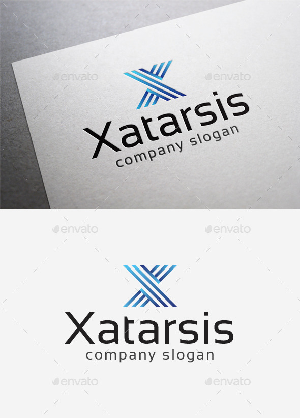 Xatarsis Logo - Letters Logo Templates
