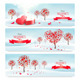 Valentine Banners - GraphicRiver Item for Sale