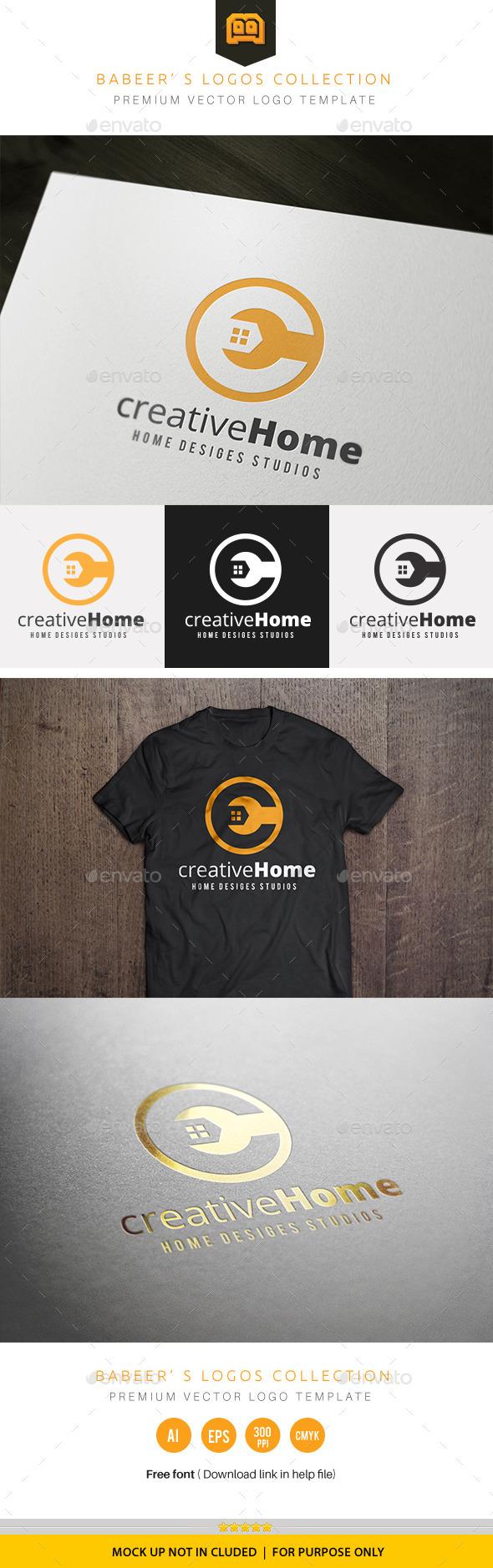 Creative Home - Buildings Logo Templates
