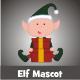 Elf Mascot - GraphicRiver Item for Sale