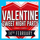 Valentine Glamour Nights Party Flyer - GraphicRiver Item for Sale