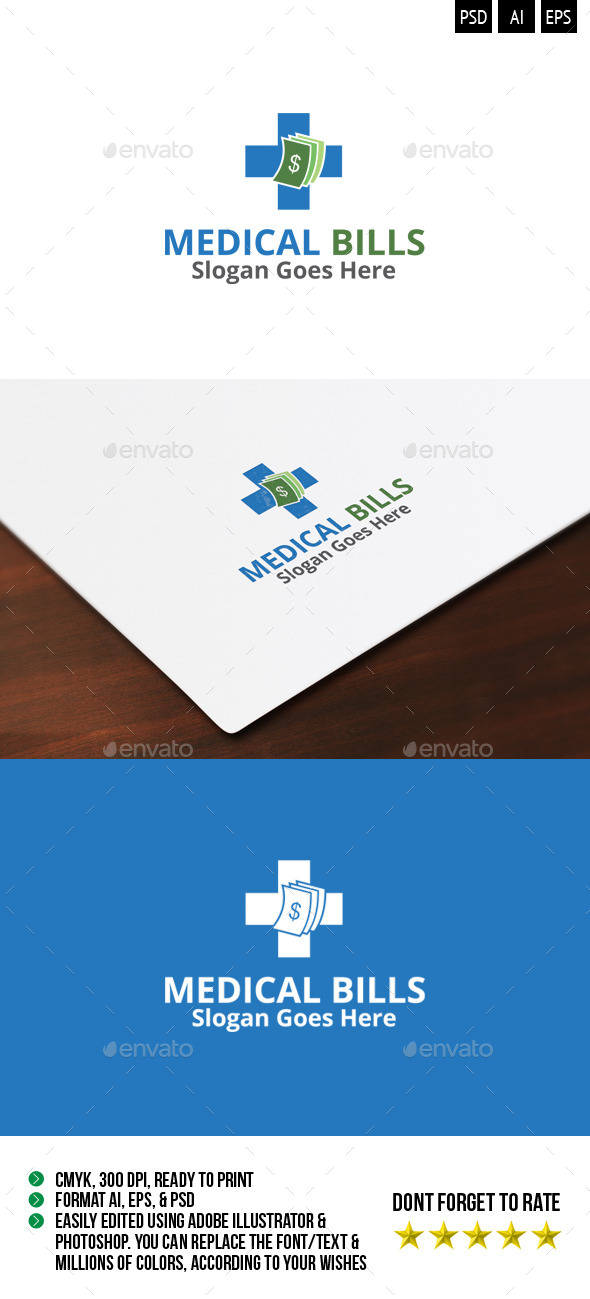 Medical Bills Logo  - Symbols Logo Templates