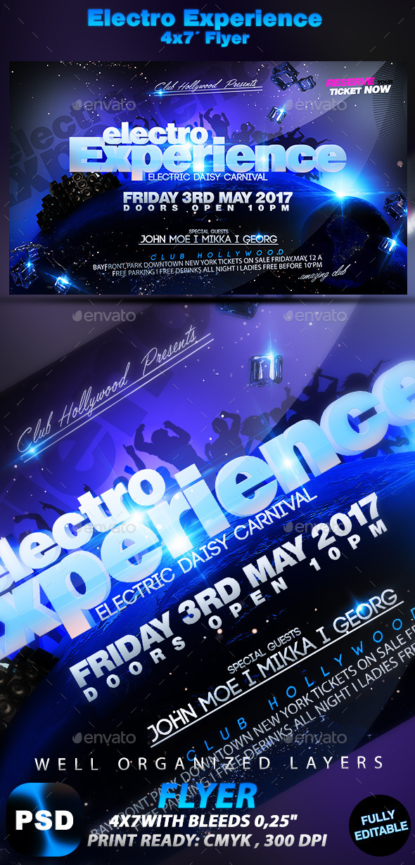 Electro Experience - Flyers Print Templates