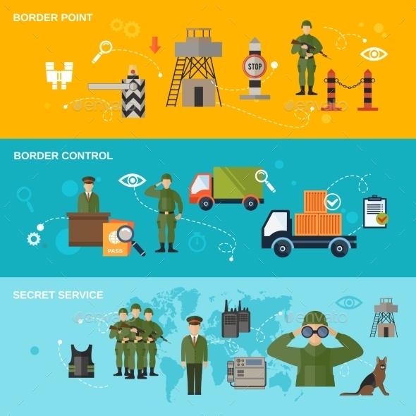 Border Guard Banner - Miscellaneous Vectors