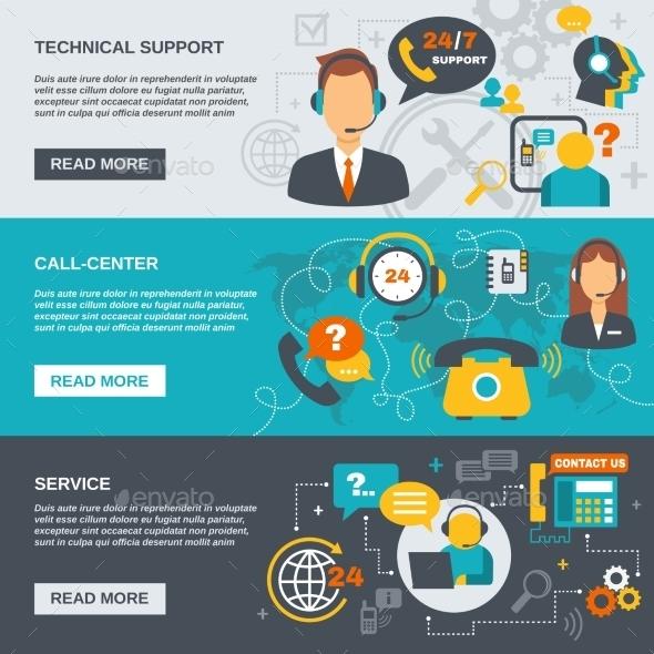 Support Call Center Banner - Communications Technology