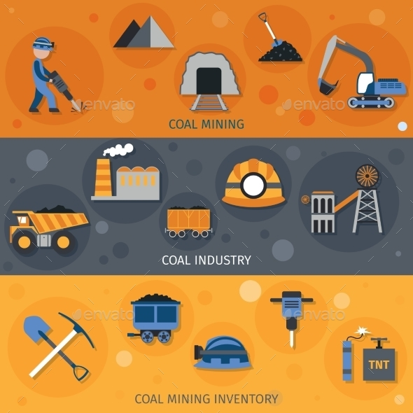 Coal Industry Banners - Industries Business