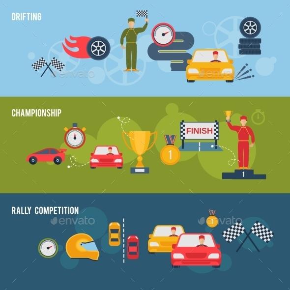 Auto Sport Banner - Miscellaneous Vectors