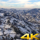 Snow on Green Tea Plantations 2 - VideoHive Item for Sale