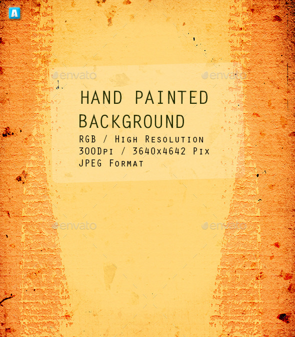 Hand Painted Background 0075 - Textures