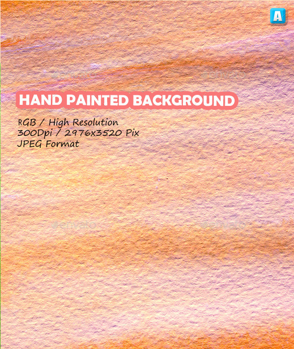 Paint Brush Strokes On Paper 0076 - Art Textures