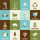 Set of  Eco Concepts - GraphicRiver Item for Sale