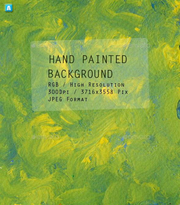 Hand Painted Background 0079 - Art Textures