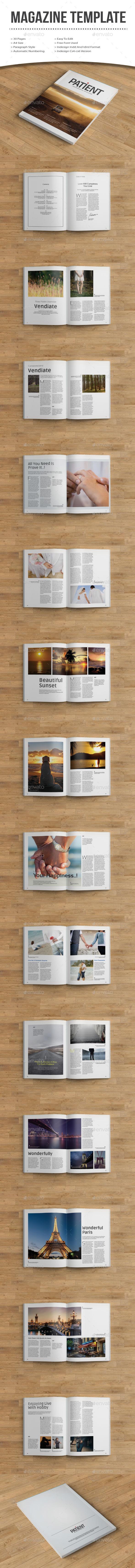 patient magazine - Magazines Print Templates