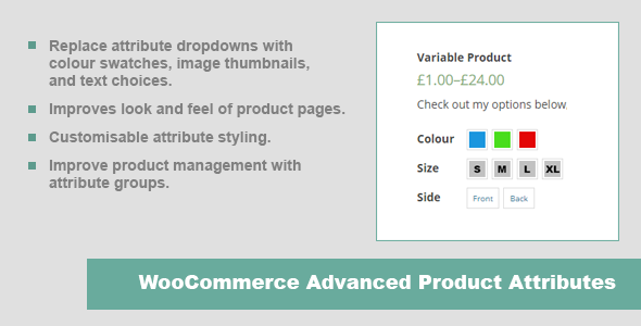 JC WooCommerce Advanced Product Attributes - CodeCanyon Item for Sale