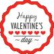 Valentine's Day Badges - GraphicRiver Item for Sale