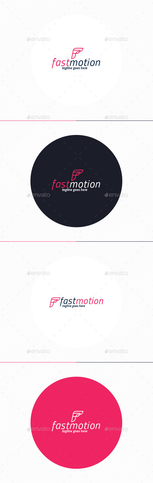 Fast Motion Logo • Letter F - Letters Logo Templates