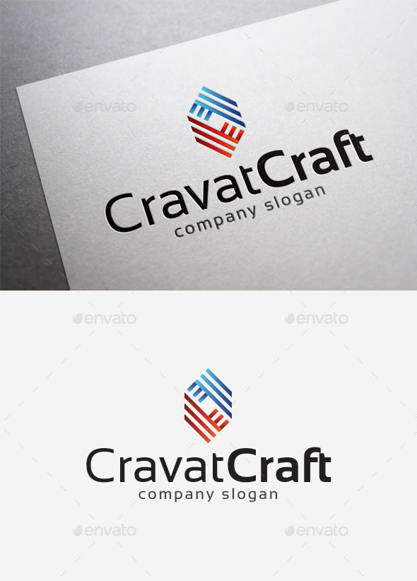 Cravat Craft Logo - Abstract Logo Templates