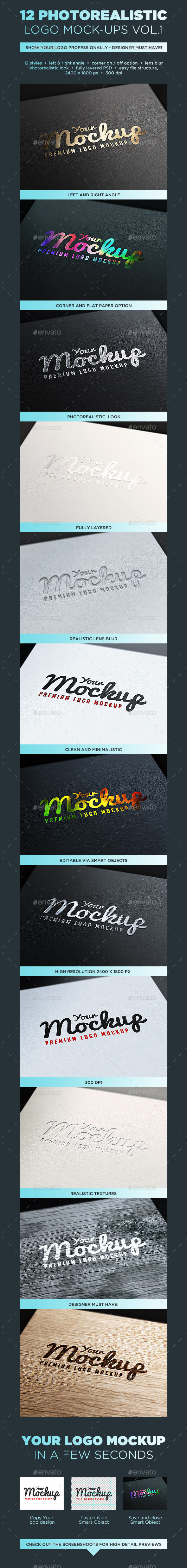 Your Mockup - Logo Mockups VOL.1 - Logo Product Mock-Ups