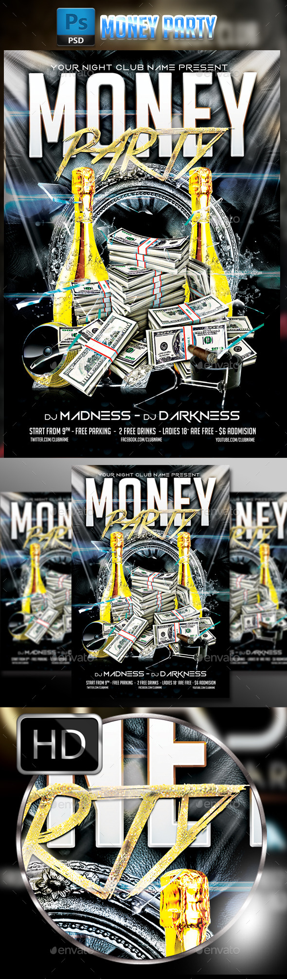 Money Party - Clubs & Parties Events