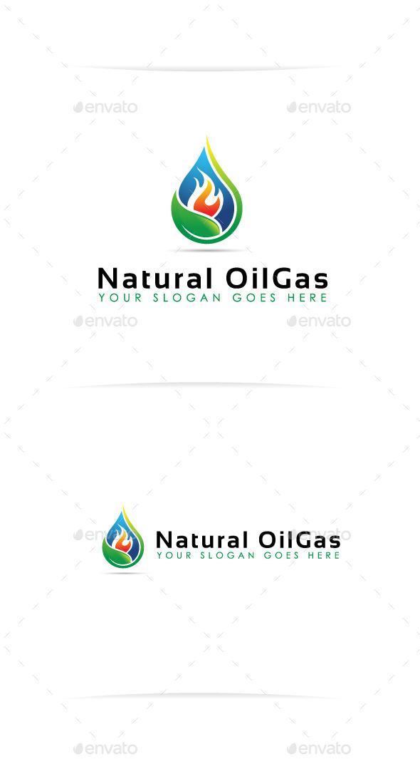 Natural OilGas - Nature Logo Templates