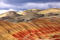 At the painted hills in Oregon. - PhotoDune Item for Sale