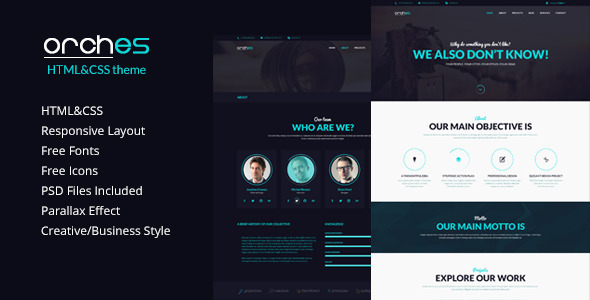 Orches – Corporate Business Template