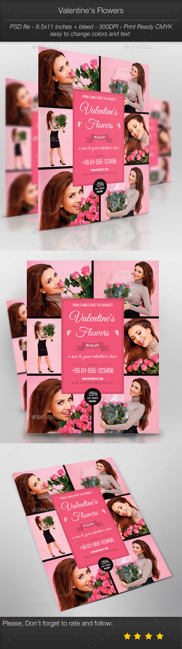 Business Promotion: Valentine's Flowers - Holidays Events