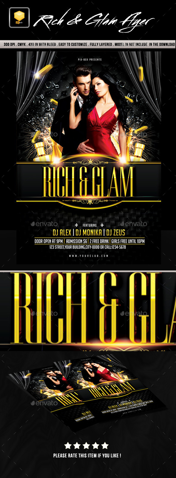 Rich & Glam Party - Clubs & Parties Events