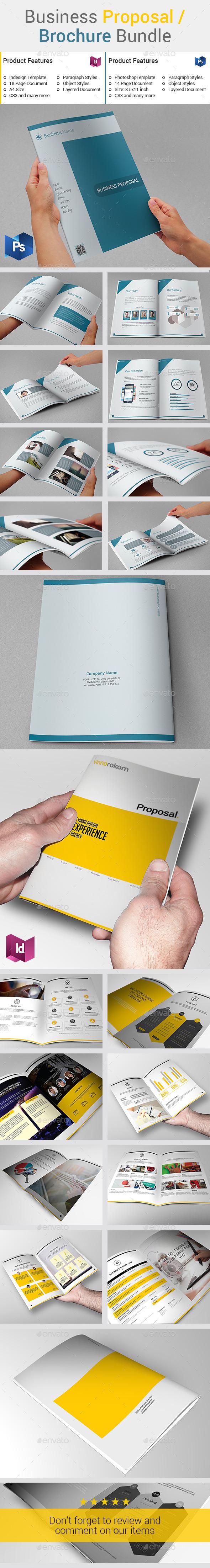 Business Proposal / Brochure Bundle - Informational Brochures