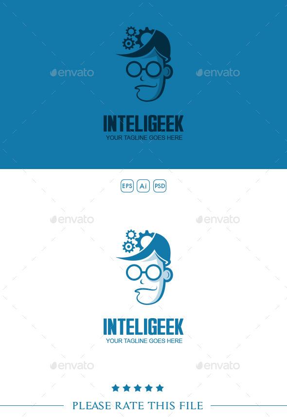 Geek Logo - Vector Abstract