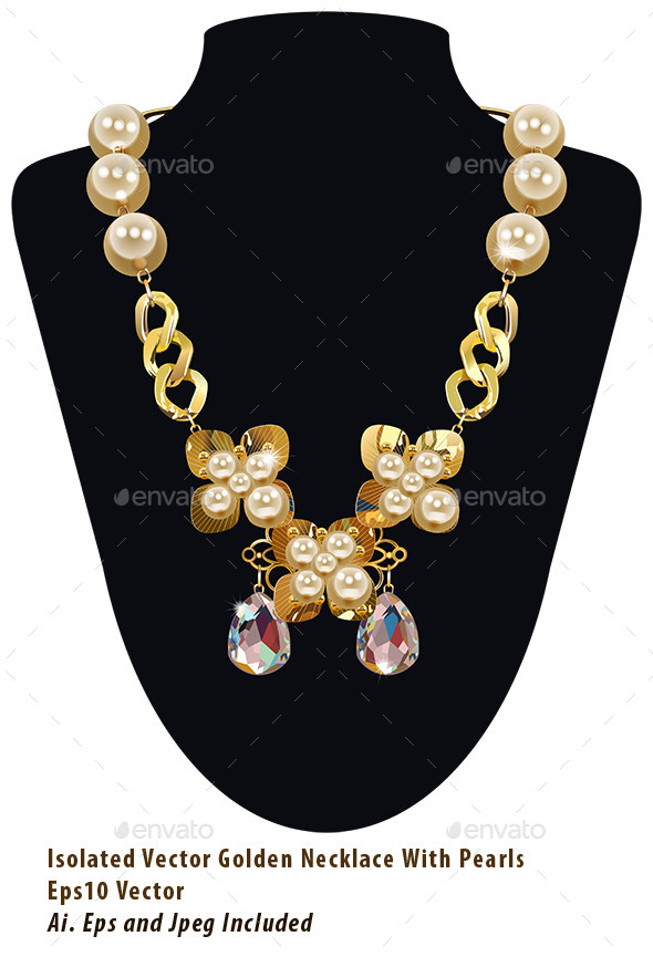 Pearl Necklace - Commercial / Shopping Conceptual