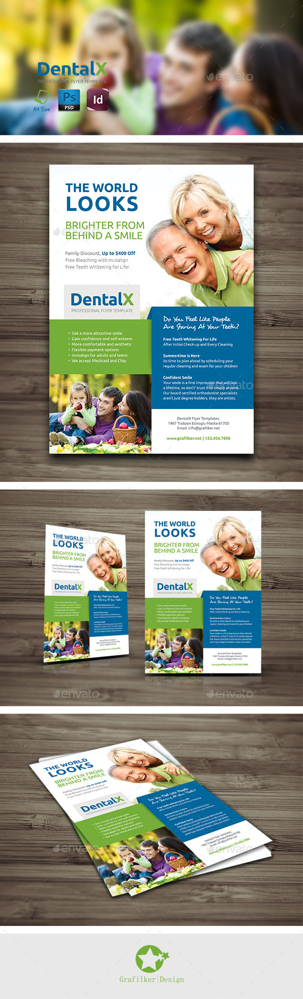 Dentist Flyer Templates - Corporate Flyers