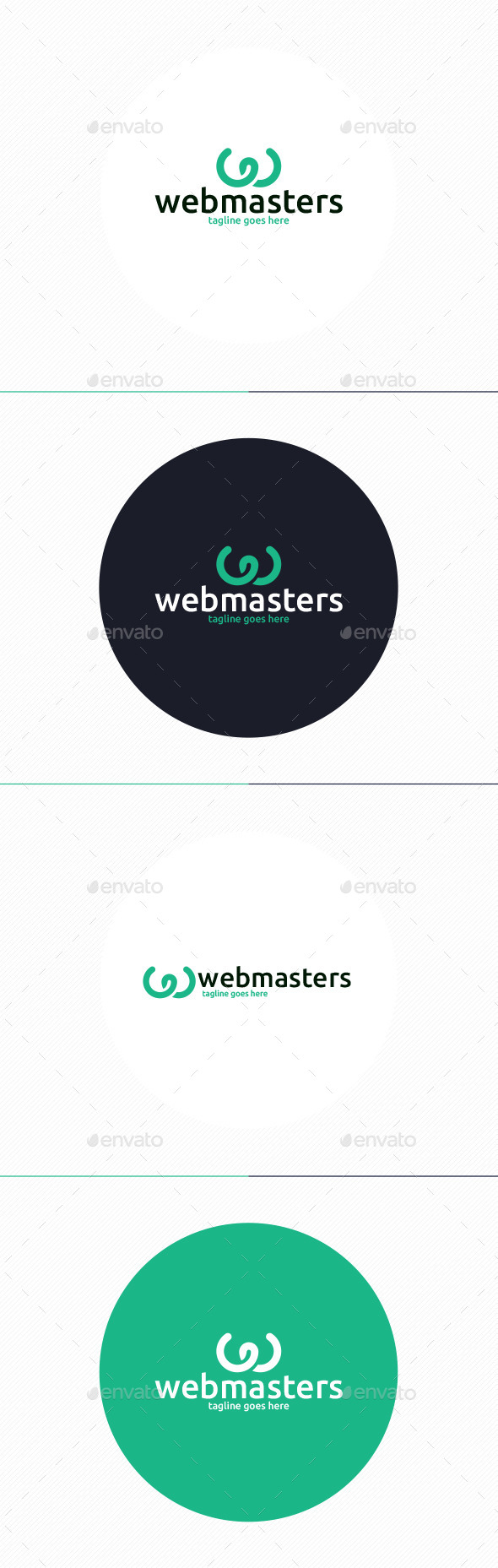 Web Masters Logo • Letter W - Letters Logo Templates